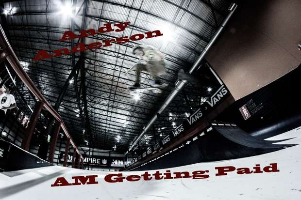 Andy Anderson Am Getting Paid Cover shot1